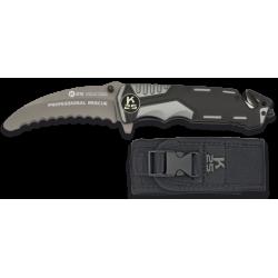 navaja gris / negra K25 seguridad. h:9.5