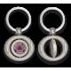 Llavero oval giratorio con chapa PROTECCION CIVIL