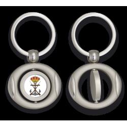 Llavero oval giratorio con chapa INFANTERIA DE MARINA
