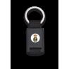 llavero rectangulo negro + cinta negra ARMADA ESPAÑOLA