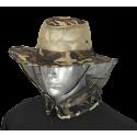 Sombrero con rejilla camo marron BARBARIC