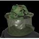 Gorro mosquitera camo verde BARBARIC