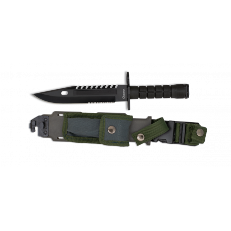 Cuchillo Bayoneta ALBAINOX. H: 19.5 cm