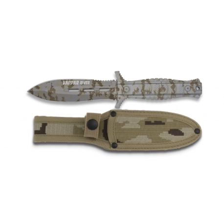 Cuchillo Albainox WAPPAR RIVER. H: 12.