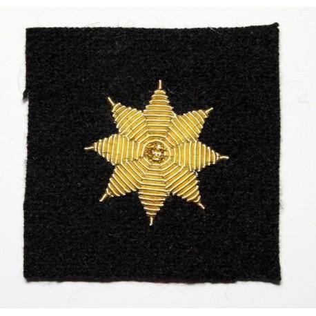 Galón estrella bordada 8 puntas