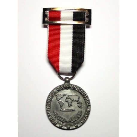 Medalla DIVISIÓN INTERNACIONAL CENTRO-SUR