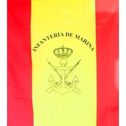 Bandera de mochila Infantería de Marina
