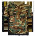 Camiseta m/c camo woodland