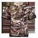 Camiseta m/c camo desierto