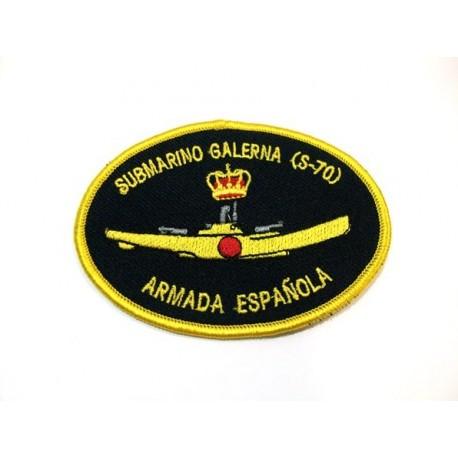 Parche bordado Submarino Galerna S-70