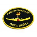 Parche bordado Submarino Tonina S-62