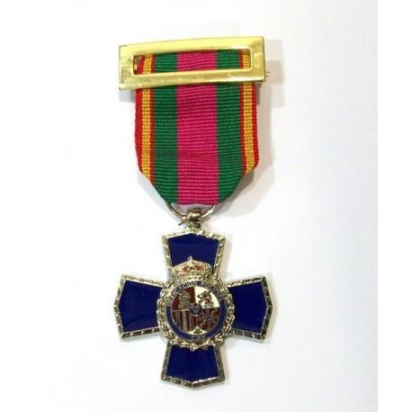 Cruz dedicación Policial XXV años